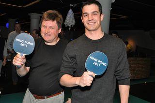 Pong winners